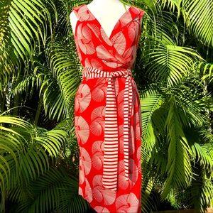 Diane Von Furstenberg Fariba Wrap Dress